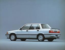 1989 Civic Si 1985 87 Honda Civic Si Sedan Jdm Classic Pinterest Honda