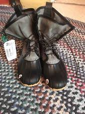 ll bean s boots size 12 l l bean canvas boots for ebay