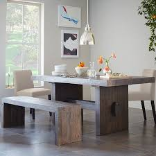 West Elm Dining Room Chairs Best 25 Dining Table With Bench Ideas On Pinterest Kitchen