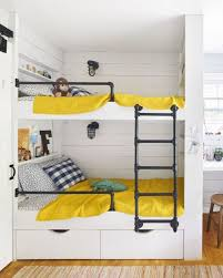 Bunk Bed For Small Room Built In Bunk Bed Idea For Small Spaces Kid Spaces Narrow Bunk