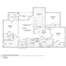 3 Bedroom Floor Plan by Glenwood Hills Morganton North Carolina Housing Management