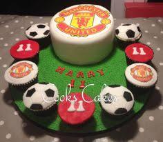 manchester united cake tortas ballet deportes pinterest