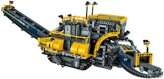 lego technic truck lego u0027s largest technic set can dig a moat around your home