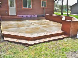 St Paul Patios by Stamped Concrete Driveways Patios Ham Lake Blaine Andover