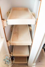 Diy Build Shelves In Closet by Shoe Closet Building Pullout Shelves Designed Decor