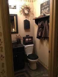 Clever Ideas Primitive Bathroom Decor Fresh Design 14