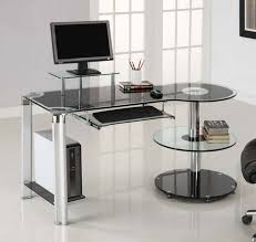 glass top office desk uncategorized modern desks with glorious glass top office desk