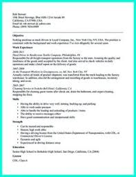 Sample Resume For Truck Driver by Format Of Resume For Job Application To Download Data Sample