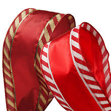 wired ribbon makes a stunningly wrapped gift