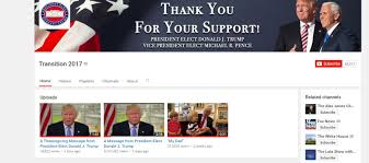 donald trump youtube channel watch donald trump thanksgiving message video deadline