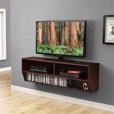amazon com black altus wall mounted audio video console kitchen