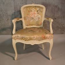 Chic Armchair Shabby Chic Armchair In Chippendale Style 1950 1955 No Sc 001