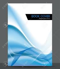 free book cover designs templates blue wave brochure booklet cover design template royalty free