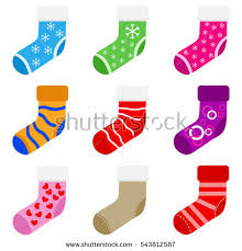 new years socks socks socks christmas gifts clothing gifts stock vector 543812587