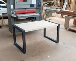 bureau bois acier bureau industriel metal et bois maison design bahbe com