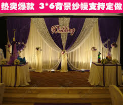 wedding backdrop font compare prices on 2015 wedding backdrop curtain online shopping