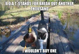 Cat Buy A Boat Meme - image 486159 i should buy a boat cat know your meme