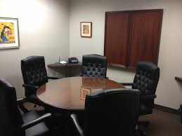 Conference Table With Chairs Rounded Brown Wooden Table Top Meeting Table Combined With White