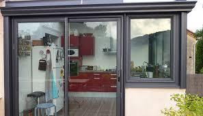 veranda cuisine plan cuisine dans veranda idée de modèle de cuisine