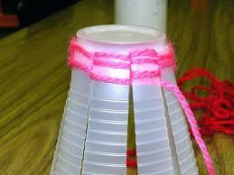 decor plastic cup ornaments decorations craft