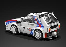 peugeot lego lego ideas lancia delta s4 wrc speed champions