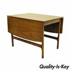 Vintage Table Ls Vintage Mid Century Modern Walnut Drop Leaf Dining Table Mccobb