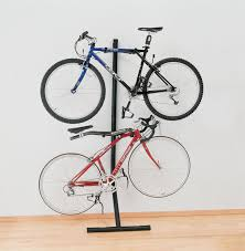 bunk bike vertical rack cushion pads hobbit hole and storage