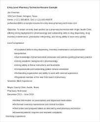 pharmacy technician resume exles 10 pharmacy technician resume templates pdf doc free premium