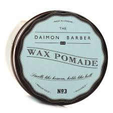Pomade Wax the daimon barber wax pomade no 3 clay
