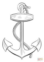 anchor with coloring page free printable coloring pages