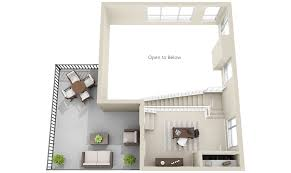 2 townhomes and lofts 3dplans com