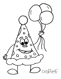 happy birthday coloring pages for preschoolers happy birthday 4809