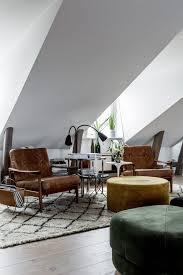 a cozy scandinavian attic in stockholm sweden