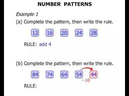 3rd grade number patterns youtube