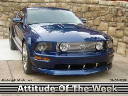 2008 Mustang Black 2008 Gt Options Package