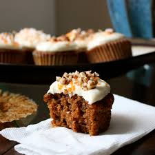 carrot cupcakes with maple cream cheese frosting get off your