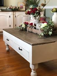 farmhouse style coffee table a coffee table makeover farmhouse style paint chips and lipstick