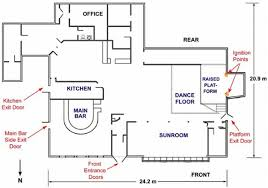 nightclub floor plan environment to be simulated floorplan of station nightclub taken
