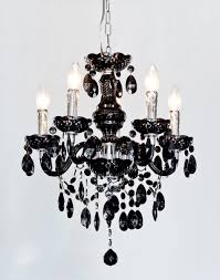 Crystal And Black Chandelier Viewing Photos Of Vintage Black Chandelier Showing 7 Of 12 Photos