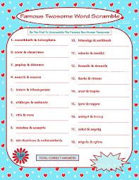 Free Printable Halloween Word Scramble by Printable Valentine Game Diy Printable Word Scramble Fun