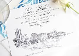 rehearsal luncheon invitations hawaii rehearsal dinner invitations