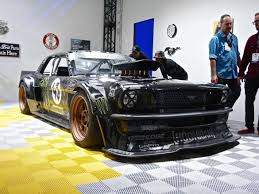 hoonigan mustang every car is a bit mad here at the 2014 sema show pictures