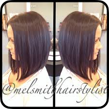 medium length swing hair cut swing bob on medium length hair mel smith hairstylist beauty