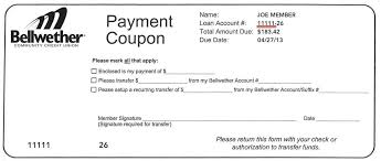 payment coupon books security savings systems assessment
