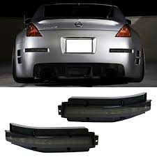 Nissan 350z All Black - amazon com ijdmtoy smoked lens all in one led turn signal backup