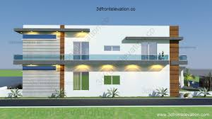 3D Front Elevation 10 Marla Houses Design Islamabad with