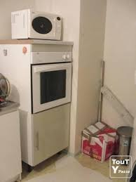 meuble encastrable cuisine meuble cuisine pour plaque de cuisson et four cheap amazing great
