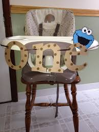 141 best images about 1st birthday high chair on pinterest the cookie monster high chair banner child s birthday lift for stairs how to recover dining room chairs