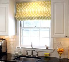 graceful kitchen curtains bay window window seat in dining room