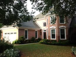 need help finding a trim color for my pink brick house